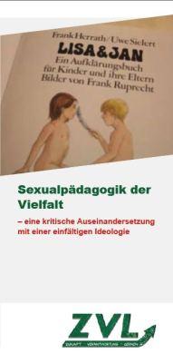 Titelbild Sexualpädagogik der Vielfalt
